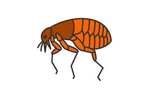 Flea color icon
