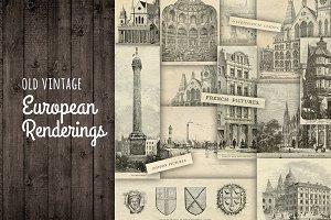 Vintage European Renderings London