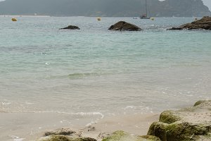 Nosa senora beach. Cies islands