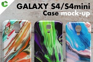 Galaxy S4/S4 mini case mock-up