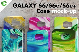 Galaxy S6/S6e/ S6e + case mock-up