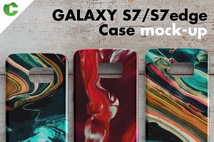 Galaxy S7/S7 edge case mock-up