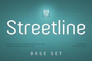 Streetline – 4 fonts