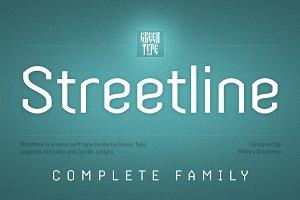 Streetline – 10 fonts
