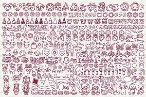 ♡ vector baby shower graphics