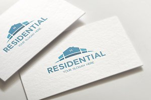 Residential House Logo Template