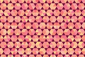 Polygon style vector pattern