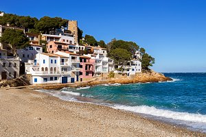 Fishermen Village in Costa Brava