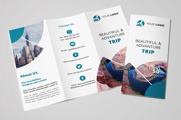Travel Tri Fold Brochure