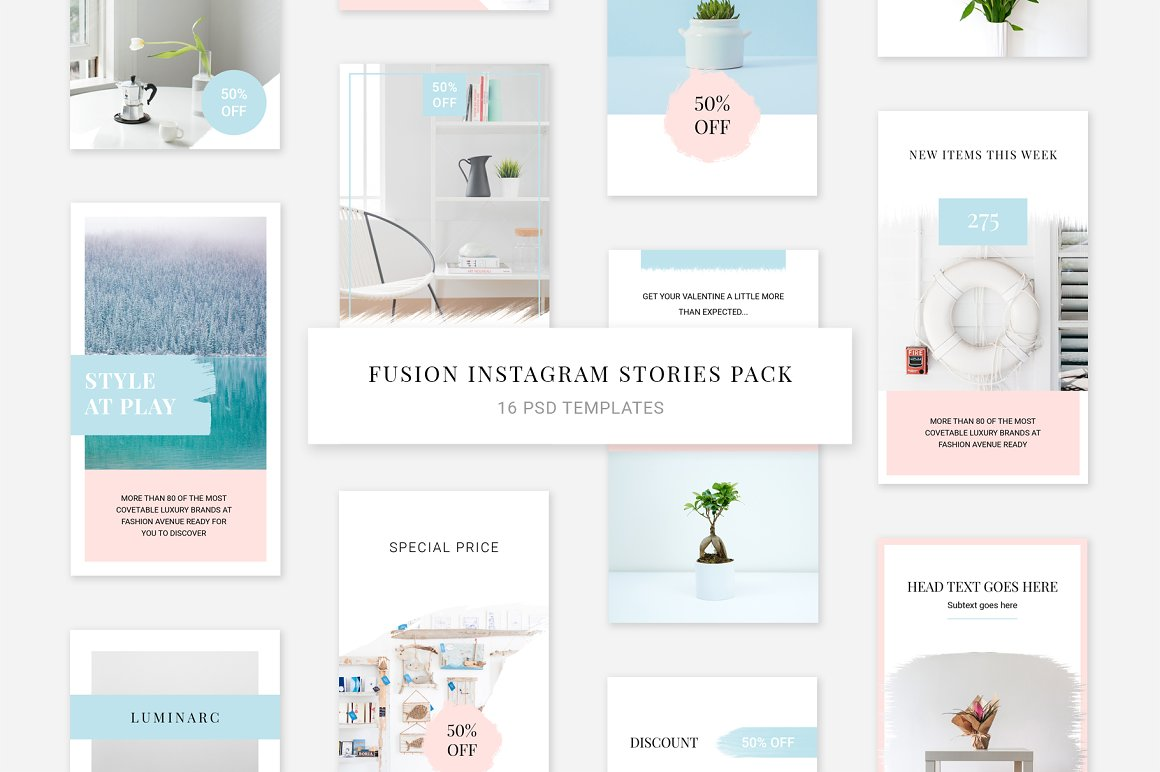 Fusion Instagram Stories Pack