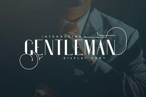Gentleman font + 10 Logos