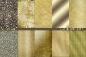 Gold Digital Background Textures