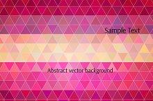 Vector polygon background