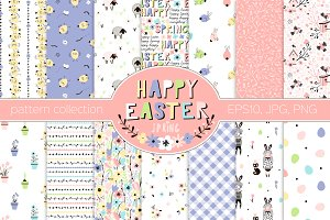 Happy Easter pattern kit