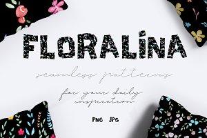 10 Floral Vintage Patterns