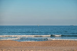 Pinedo Beach, Valencia, Spain