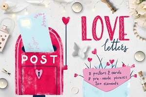 love letters :: posters & cards