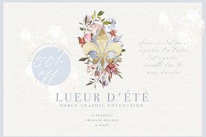 Lueur d'été Noble Collection 50% OFF