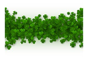 Patricks Day Border