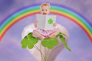 St. Patrick's Day Digital Backdrop