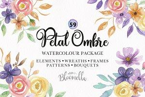 Watercolor Flower Spring Package