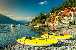 Varenna resort with lake Como