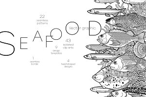 Seafood graphics