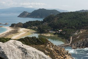 Alto del Principe, Cies islands