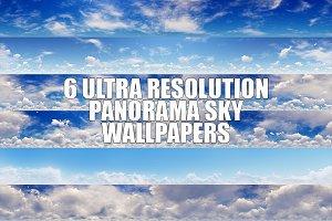 6 ULTRA RESOLUTION PANORAMA SKY WALL