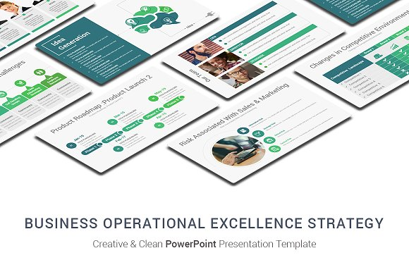 Operational Excellence Strategy Pptx