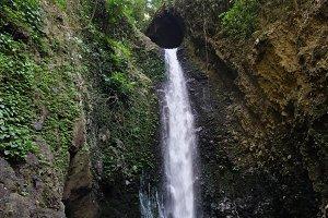 Beautiful tropical waterfall. Bali,Indonesia.