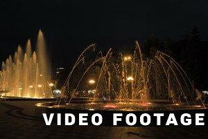 Fountain at the night - Georgia