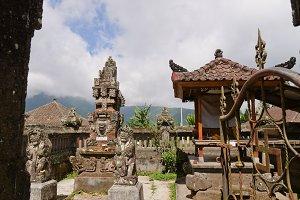 Hindu temple on Bali.