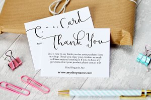 Business Thank You & Care Cards
