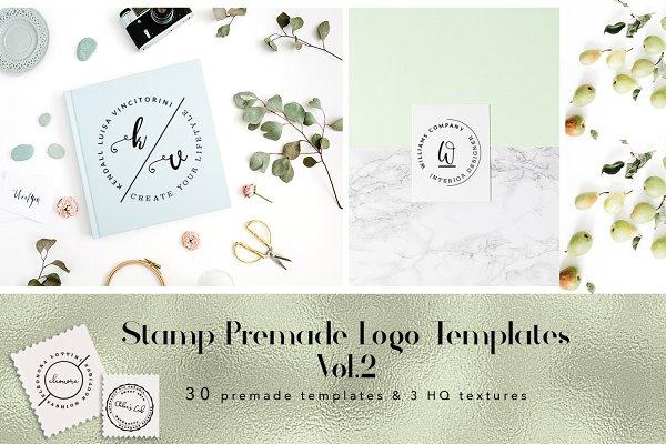 Stamp Premade Logo Templates Vol.2