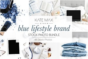 Blue Lifestyle Brand Stock Bundle