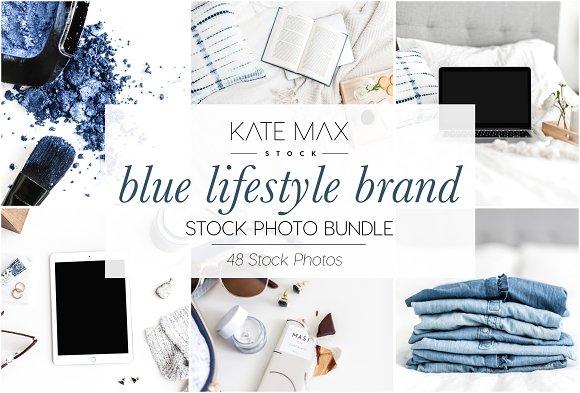 Blue Lifestyle Brand Stock Bundle