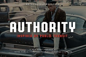 Authority | 1970s Public Font