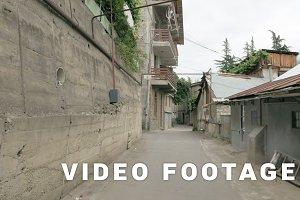 Streets in the Borjomi city - Georgia