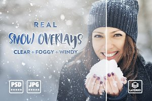 Real Snow Overlays - UPDATED
