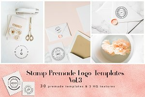 Stamp Premade Logo Templates Vol.3