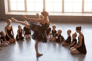 Ballerina dance for girls
