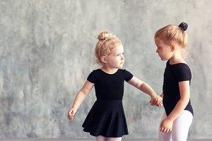 girls ballerinas