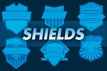 6 Vector Shields and Badges