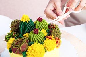 Woman confectioner
