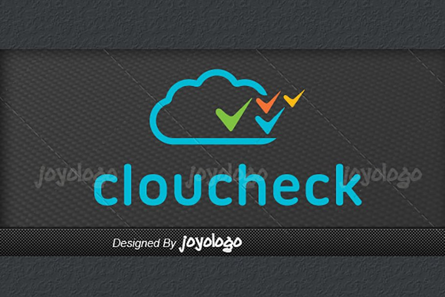 Applications Pixels Check Cloud Logo in Logo Templates - product preview 2