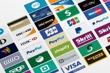 by  in Credit Card Icons