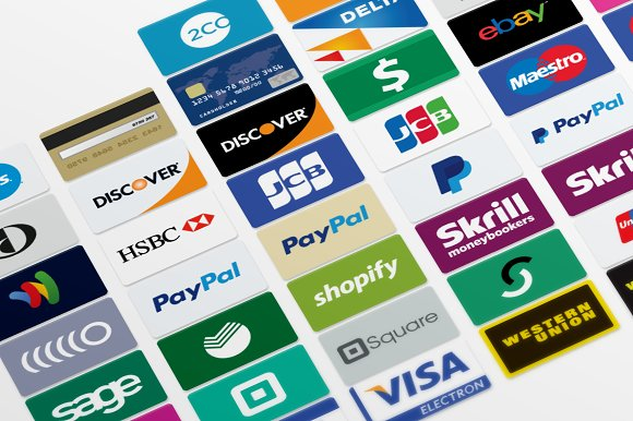 54 credit card icons icons creative market thecheapjerseys Gallery