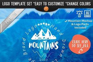 Mountain Logo Design Company Brand
