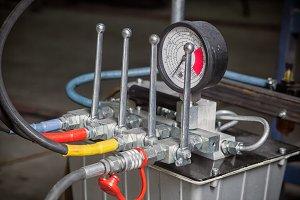 ydraulic control panel